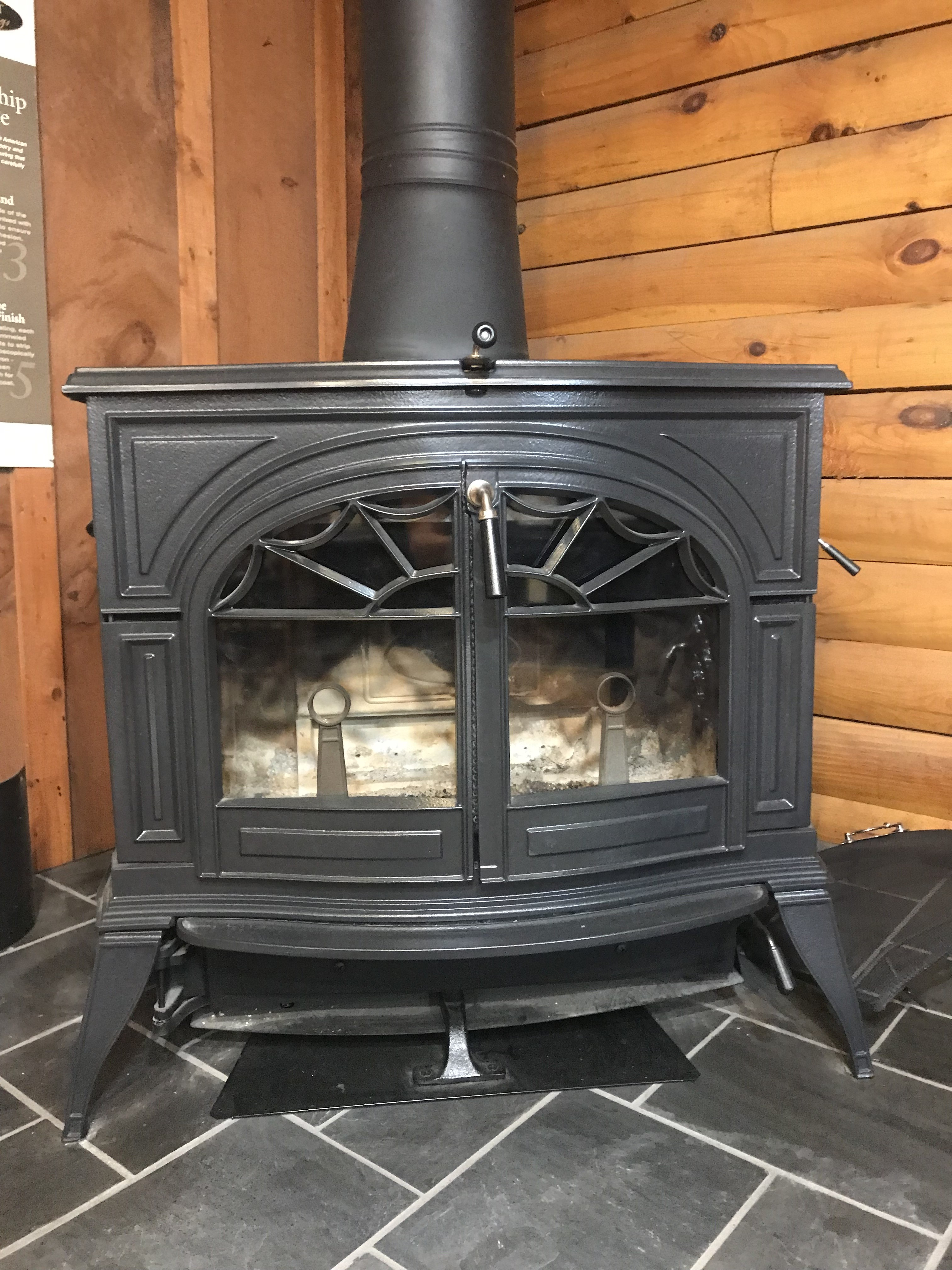 Vermont Castings Defiant Wood Stove - Demo