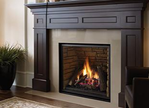 Gas Fireplaces - Traditional