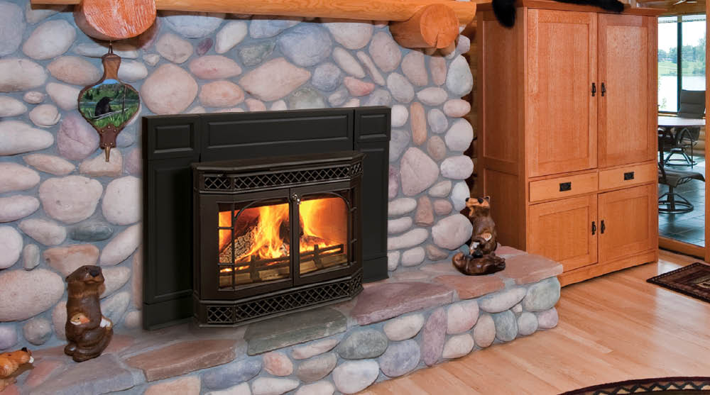 Cozy Cabin Stove Fireplace Shop Vermont Castings Montpelier Non Catalytic Wood Stove