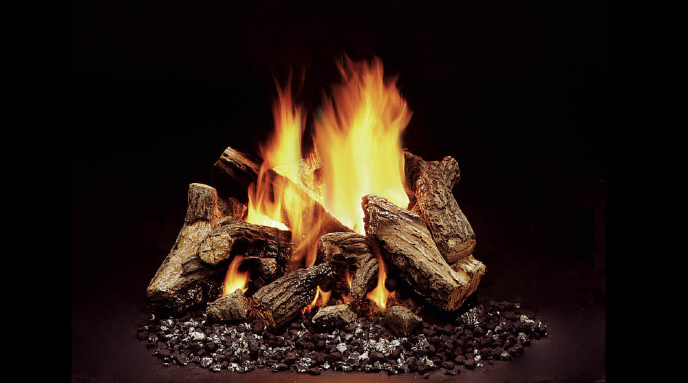 Majestic Duzy 5 Vented Gas Log Set