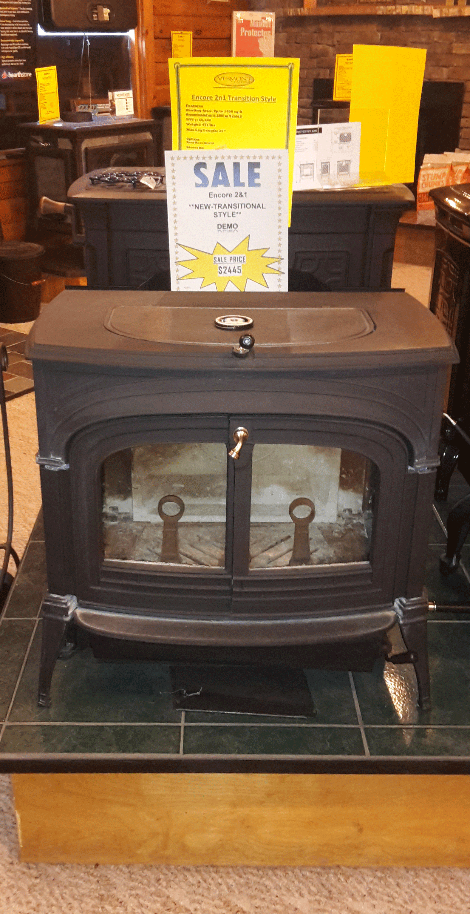 Cozy Cabin Stove & Fireplace Shop - Wood Stoves